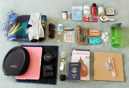What's in my carryon bag