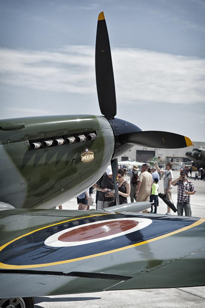 Hamilton Airshow Spitfire
