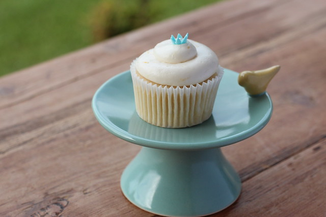 Lemon Blossom Cupcakes from Georgetown Bakery Cookbook