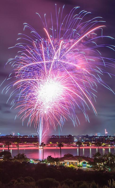 Newport Dunes Fireworks-7955
