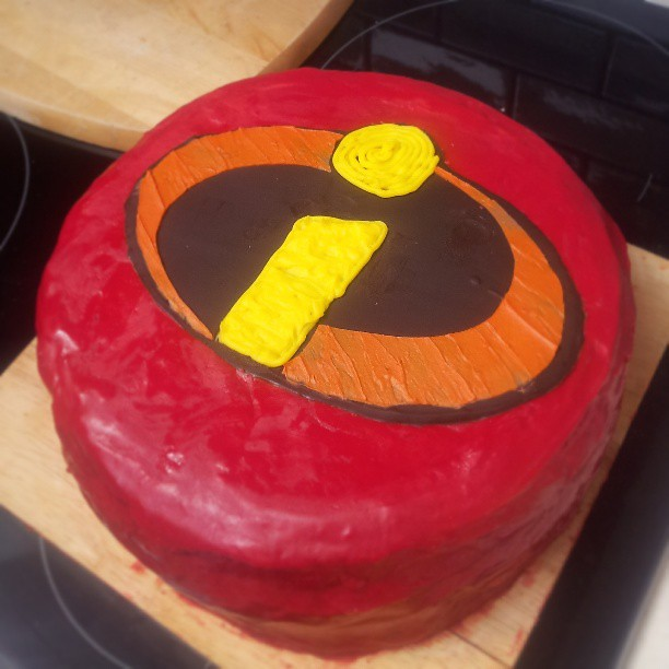 Incredibles Birthday Cake Topper