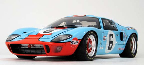 Ford GT40: Mitico Coupe de Carreras