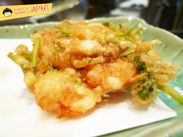 Tempura Hisago - shrimp ball tempura 2