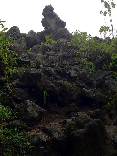 First look at lava flow of 1992, Arenal