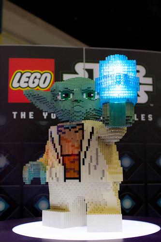 Lego Star Wars Yoda Close-Up