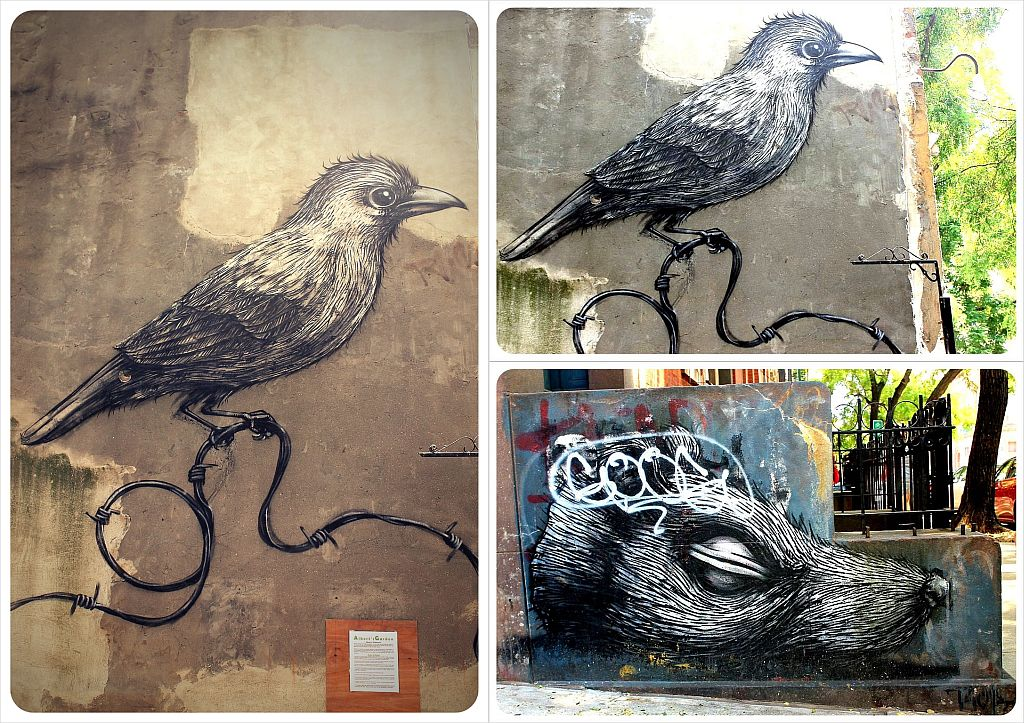 Roa pieces East Village New York