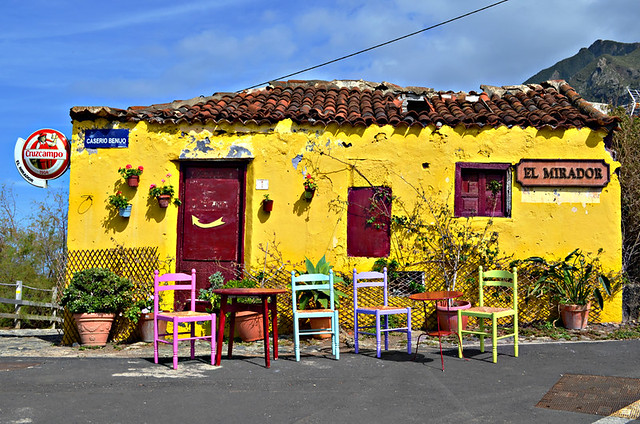 Restaurant El Mirador, Anaga Mountains, Tenerife