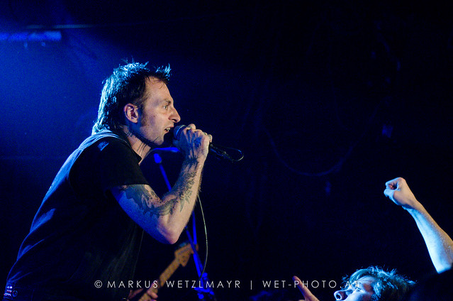 """US Crust Punk / Ska band LEFTÖVER CRACK performing live as main act at Viper Room, Vienna, Austria on July 23, 2013.  NO USE WITHOUT PRIOR WRITTEN PERMISSION.  © Markus Wetzlmayr   <a href=""""http://www.wet-photo.at"""" rel=""""noreferrer nofollow"""">www.wet-photo.at</a>"""