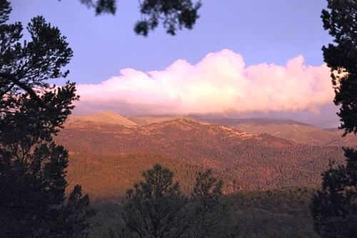 vacation usa newmexico clouds sunrise ruidoso