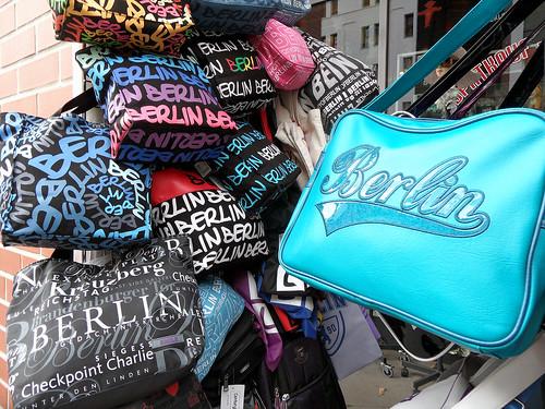 Berlin-Taschen als Souvenir