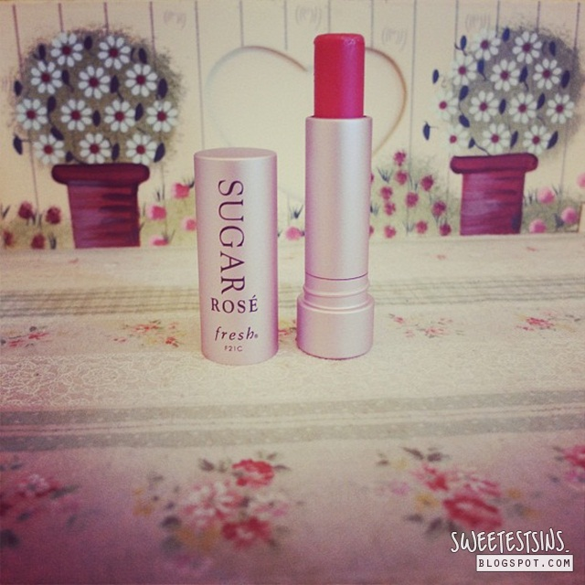 Fresh Sugar Lip Treatment SPF 15 Sugar Rose Tinted review