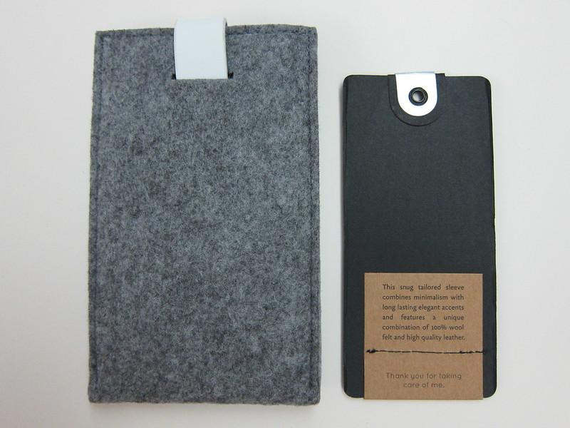 Mujjo Galaxy S3 Wallet - Back