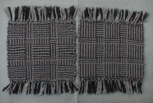 Weaving Project 31: Panels 7 and 8