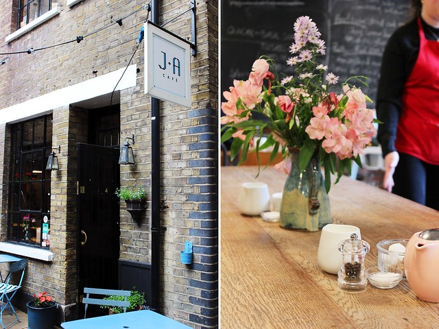 London Teil 4 (Clerkenwell + South Kensington) J+A Café