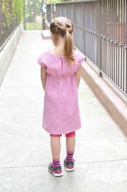 roller skate dress back
