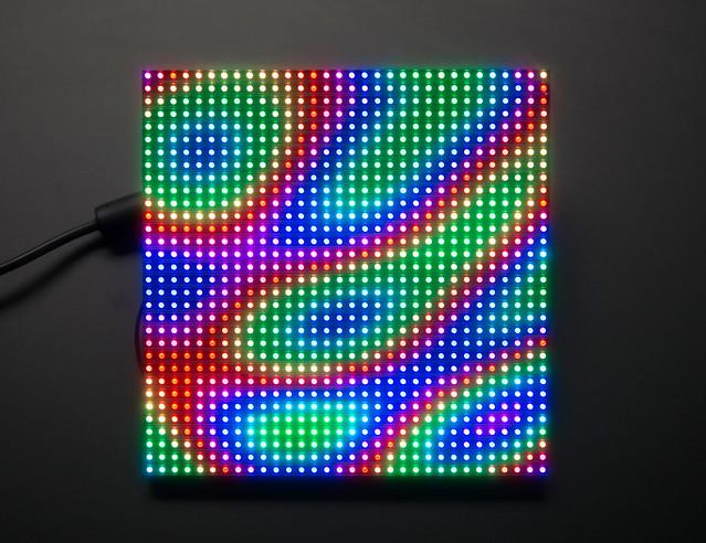 medium 32x32 rgb led matrix panel flickr photo sharing. Black Bedroom Furniture Sets. Home Design Ideas