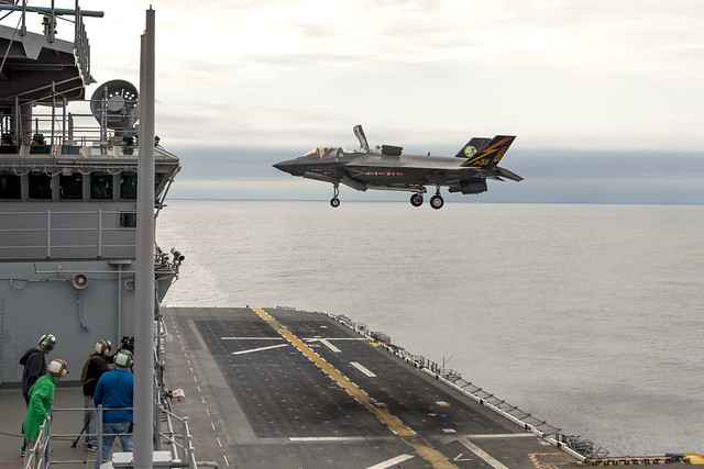 9614147057 70688900f1 z F 35B Ship Trials Aboard the USS Wasp