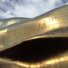 Experience Music Project. #seattle #landmarked #gehry