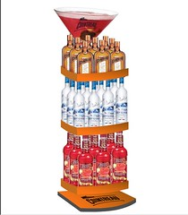 wine botthles rack display