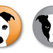 moo pinback buttons by moucri
