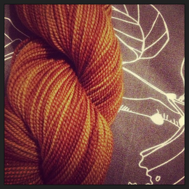 A very quick delivery of #shibui #sock #yarn from #meadowyarn..., thankyou Anj!