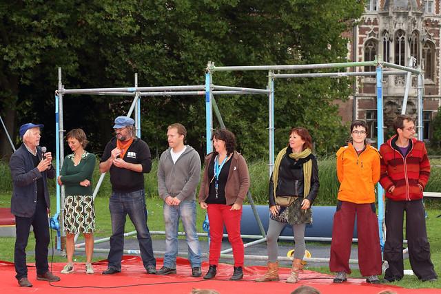 20 jaar Cirkus in Beweging met Dernière Ensorfanfare