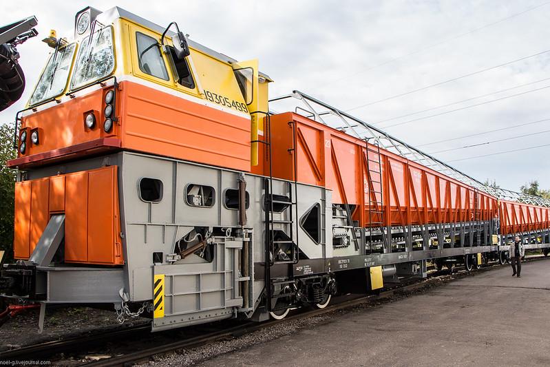 два вагона-лаборатории.