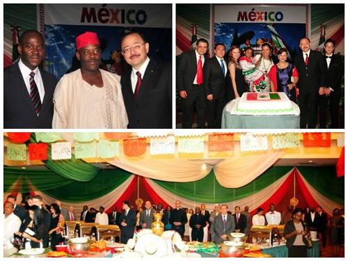 Embamex Nigeria foto de grupo