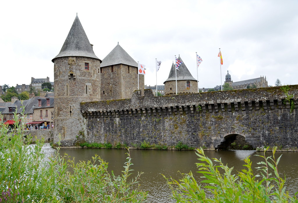 Castle in Fougères