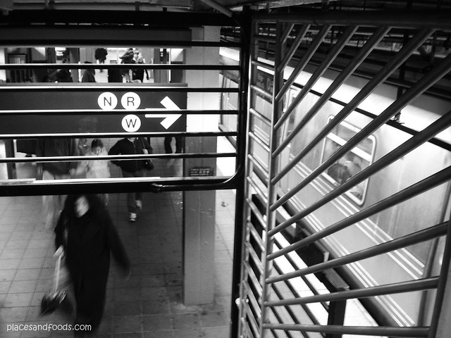 new york bw subway