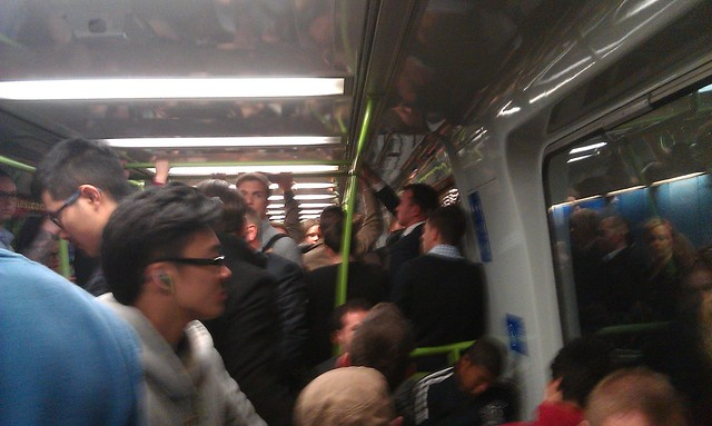 Crowding, Frankston line