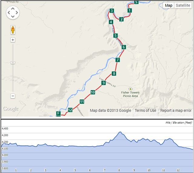 The Other Half map and elevation