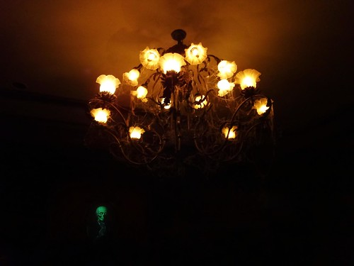 Haunted Mansion foyer