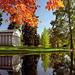 "Cincinnati - Spring Grove Cemetery & Arboretum ""Fleischman Mausoleum & Geyser Lake"" by David Paul Ohmer"