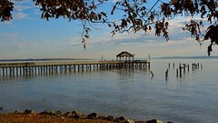 The pier at Freestone Point