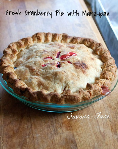 Cranberry Pie Whole