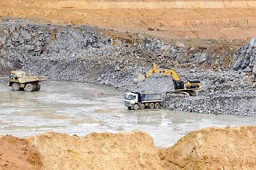 barragem de Belo Monte, no rio Xingu