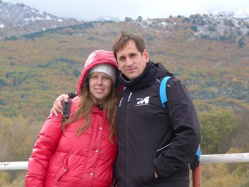 Rebeca y yo en Navaluenga