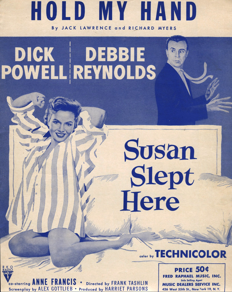 SUSAN SLEPT HERE (1954)