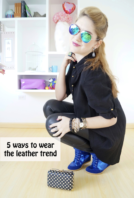 Tips on how to wear leather