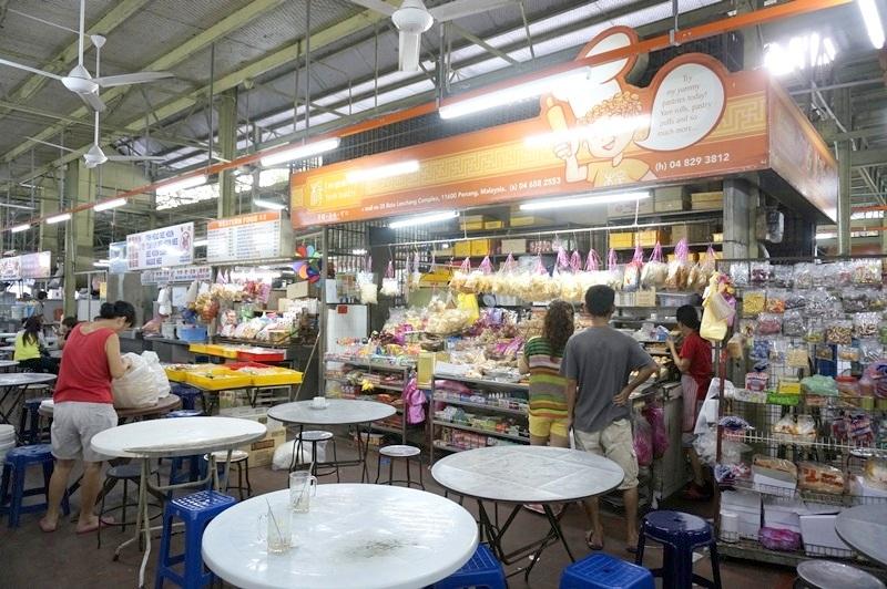 batu lanchang market - sweet potato balls
