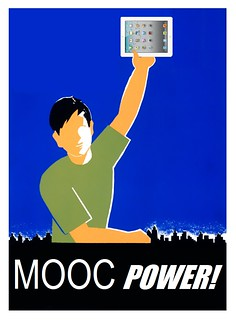 MOOC Power, after a WPA poster