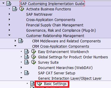 SCN : Blog List - Customer Relationship Management (SAP CRM)