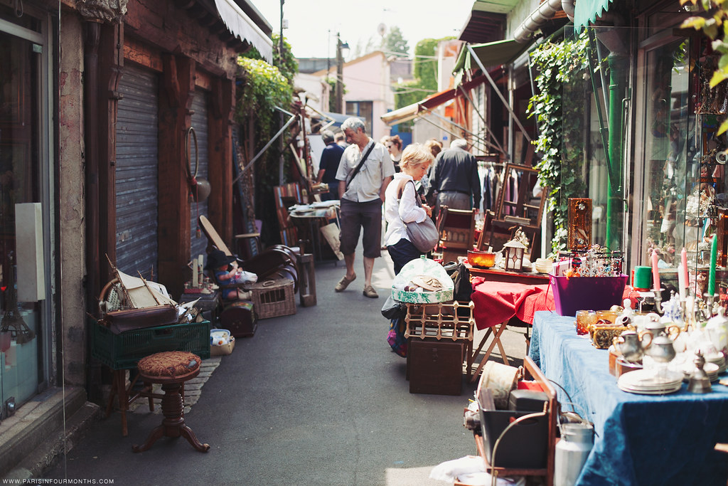 Flea market in Paris, photo by Carin Olsson of Paris in Four Months