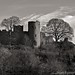 Ludlow Castle in winter light..