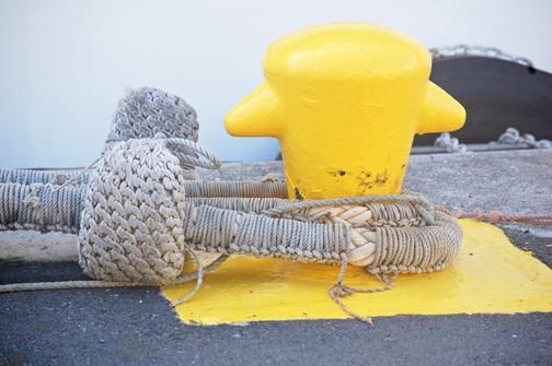 Shonan Maru chafing gear bollard