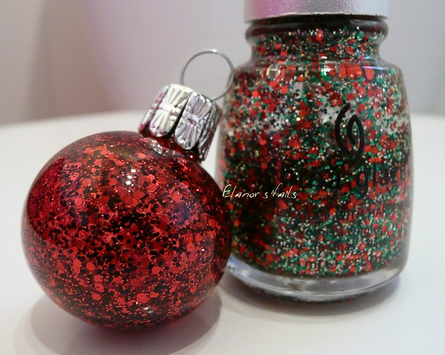 nail varnish baubles party hearty