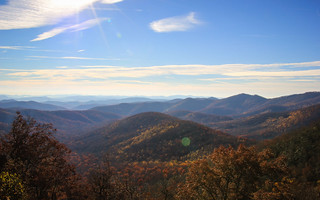 Big Ridge Overlook (Blue Ridge Parkway), NC