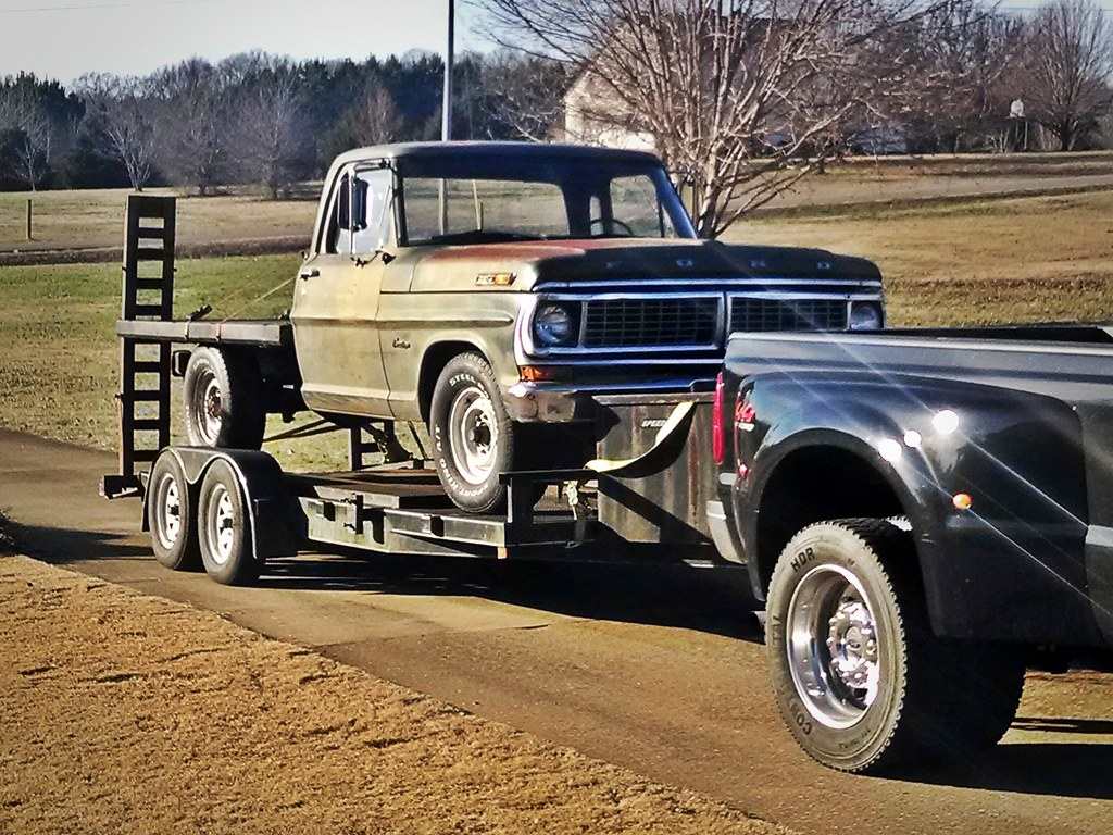 Plans for flatbed ford f350 - 1970 F250 Military Flatbed