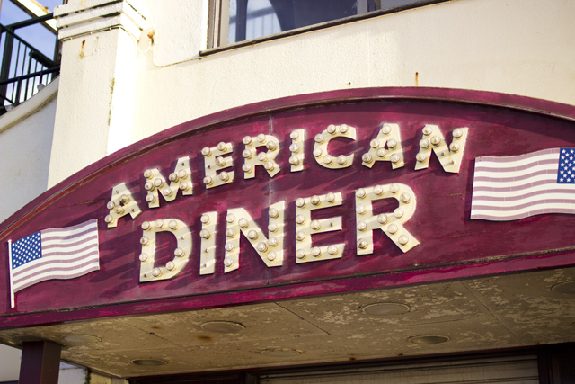 American Diner in blackpool